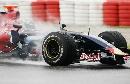 图文:[F1]西班牙测试 红牛二队看不到新款设备