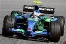 图文:[F1]巴塞罗那测试赛 巴顿小心翼翼