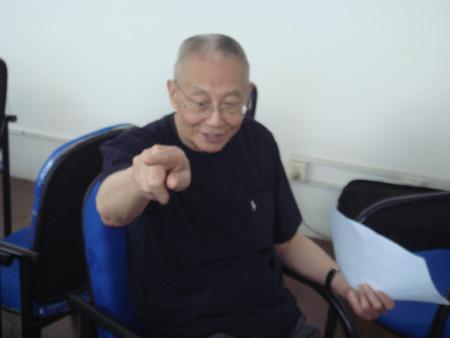 亚排联主席魏纪中接受采访