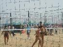 图文:沙排上海公开赛首日 性感怡人的沙排比赛