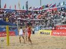 图文:沙排上海公开赛首日 德国组合兴奋不已