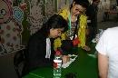 (图)台湾著名漫画家朱德庸签售会现场