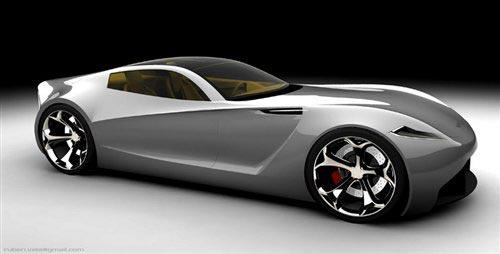 阿斯顿·马丁DB-ONE概念车