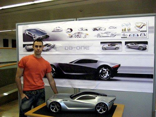 该车的设计者——巴伦西亚理工大学汽车设计硕士Ruben Vela