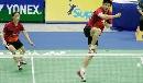 图文:新加坡公开赛 谢中博张亚雯晋级混双四强