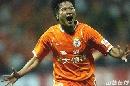 图文:[中超]山东3-0陕西 大于狂奔庆祝
