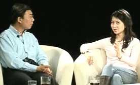 图文:狐侃体坛第三期 韩乔生对话甘萍