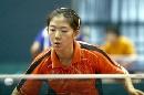 图文:国乒女队备战世乒赛最后冲刺 牛剑锋训练