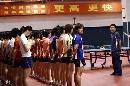 图文:国乒女队备战世乒赛最后冲刺 训练讲话