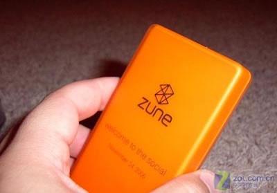 粉色已确定 微软或将推橙色Zune播放器