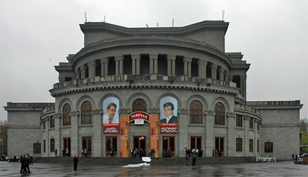 埃里温歌剧院比赛外景