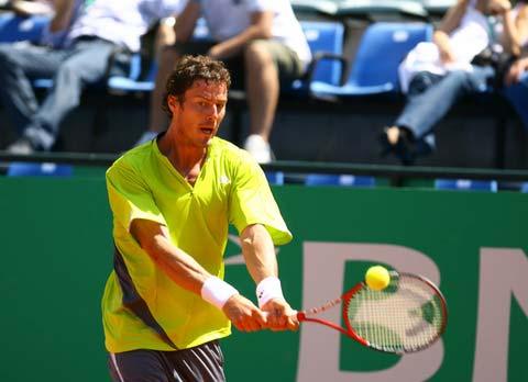 图文:[网球]ATP罗马大师赛 萨芬2:1胜德里克