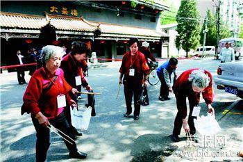七姐妹环境建设志愿服务监督岗