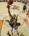 图文[NBA]:马刺VS太阳 邓肯内线单打