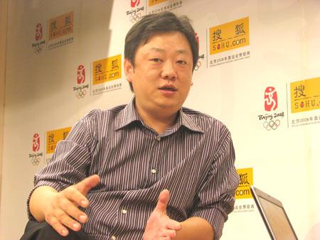 暴风影音副总裁方唯做客搜狐谈客户端商业化之路(搜狐IT图片)