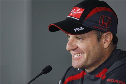图文:[F1]西班牙站赛前 巴里切罗对赛道非常熟