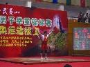 图文:男举奥运选拔赛60kg级 张湘祥在比赛中