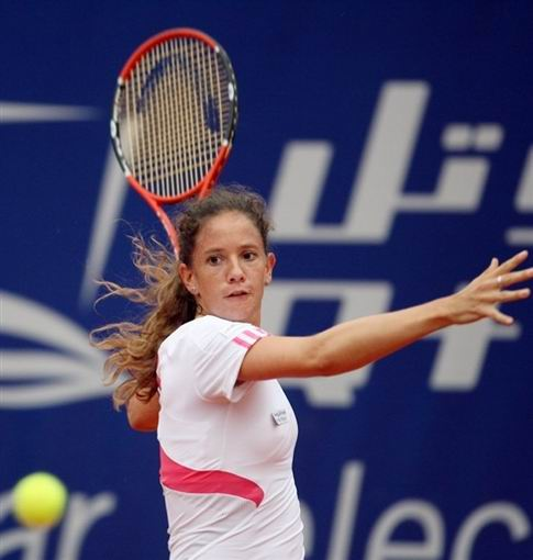 图文:WTA柏林公开赛第四日 施耐德赢得德比