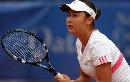 图文:WTA柏林公开赛第四日 彭帅全神贯注