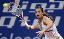 图文:WTA柏林公开赛第四日 毛瑞斯莫大力挥击