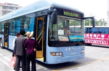 氢燃料电池公交