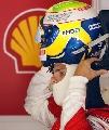 图文:[F1]西班牙站练习 马萨准备出发挑战对手