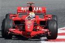 图文:[F1]西班牙站练习 马萨的表现不够突出