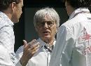 图文:[F1]西班牙站练习 伯尼忙于为新赛季添丁