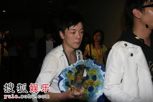 组图:仁和闪亮快乐男声 广州赛区幕后花絮图片