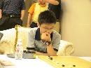 图文:中盘负张维 12岁小将廖行文围甲首战告负