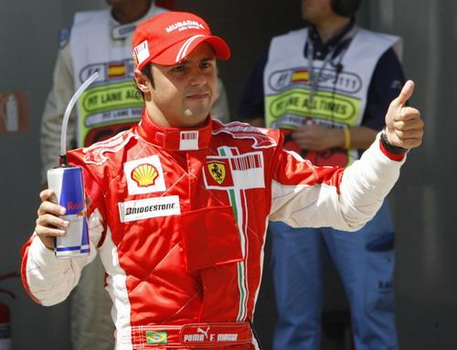 图文:[F1]西班牙站排位赛 马萨成功冲击杆位