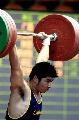 图文:全国男子举重锦标赛陆永夺得三金