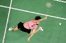 图文:印尼羽毛球超级系列赛 王晨夺女单冠军