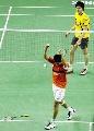 图文:印尼公开赛 鲍春来痛失男单桂冠