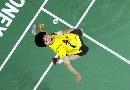 图文:印尼公开赛 鲍春来不敌李宗伟