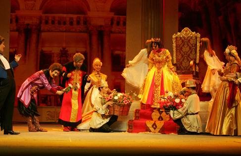 资料图片:中国儿艺童话剧《十二个月》(6)