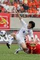 图文:[热身赛]女足5-2韩国 人仰马翻