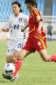 图文:[热身赛]女足5-2韩国 拔脚怒射