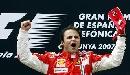 图文:[F1]马萨获西班牙站冠军 获胜后兴奋不已