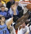 图文:[NBA]爵士vs勇士 杰克逊突破奥库