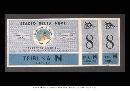 图文:历届冬奥会门票 1954科尔蒂纳丹佩佐门票