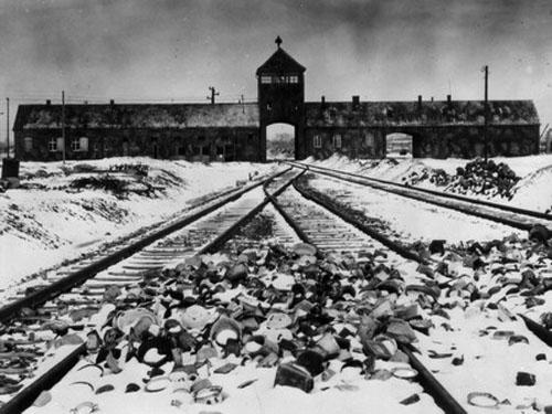 斯威辛集中营是纳粹德国修建最大的一座(资料图片)-纳粹大屠杀档