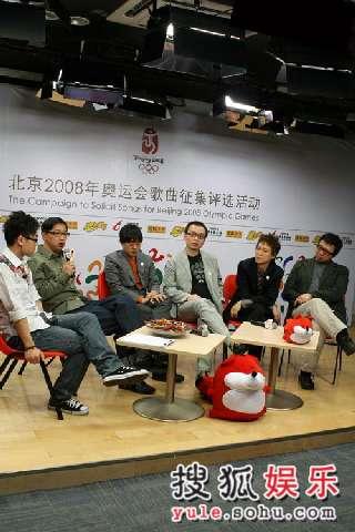 图:香港四大音乐人提交征歌作品花絮(88)