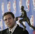 图文:诺维茨基当选NBA常规赛MVP 先睹为快