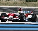 图文:[F1]里卡多赛道测试 小舒马赫成绩第2快