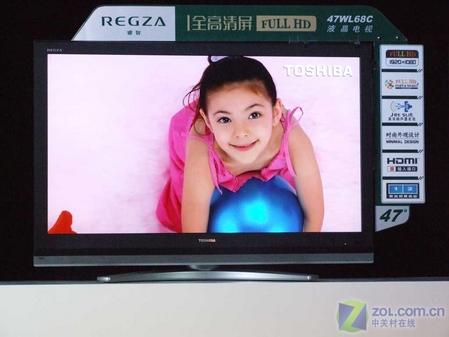 东芝47吋液晶电视价格直逼国产品牌!