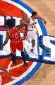 图文:[NBA]公牛胜活塞 华莱士VS华莱士
