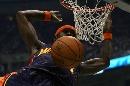 图文:[NBA]勇士VS爵士 杰克爆扣