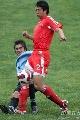 图文:[国奥]中国2-1乌拉圭 赵铭奋不顾身