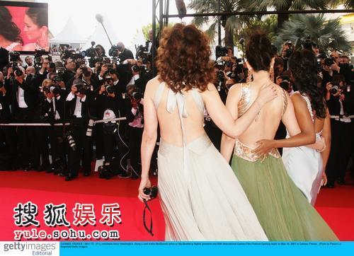 图:第60届戛纳电影节开幕之夜巩俐、凯丽·华盛顿、安迪·麦克道尔